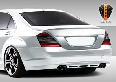 Mercedes S Class Eros Version 1 Duraflex Rear Body Kit Bumper 2007-2009