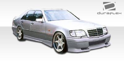 Mercedes S Class VIP Duraflex Front Body Kit Bumper 1992-1999