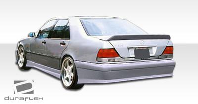 Mercedes S Class VIP Duraflex Side Skirts Body Kit 1992-1999