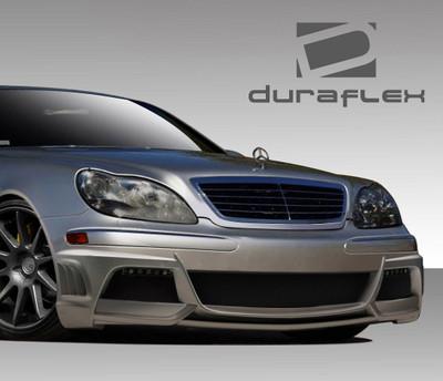 Mercedes S Class W-3 Duraflex Front Body Kit Bumper 2000-2002