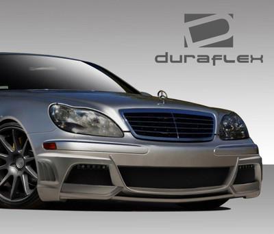 Mercedes S Class W-3 Duraflex Front Body Kit Bumper 2003-2006