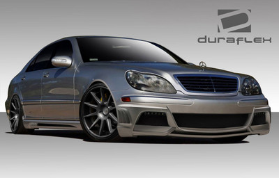 Mercedes S Class W-3 Duraflex Full Body Kit 2000-2002