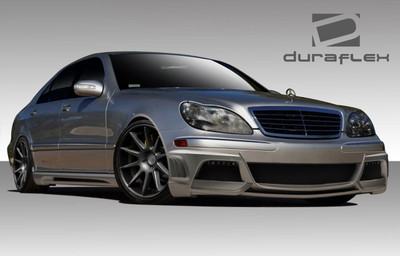 Mercedes S Class W-3 Duraflex Full Body Kit 2003-2006