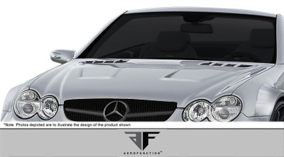 Mercedes SL AF-Signature 1 Series Aero Function Body Kit- Hood 2003-2008