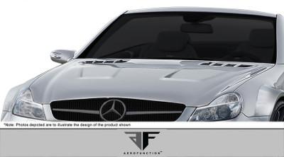 Mercedes SL AF-Signature 2 Series Aero Function Body Kit- Hood 2003-2012