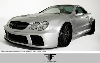 Mercedes SL AF-Signature Series 1 Aero Function Full Wide Body Kit 2003-2008