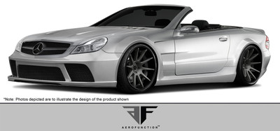 Mercedes SL AF-Signature Series 2 Aero Function Full Wide Body Kit 2003-2012