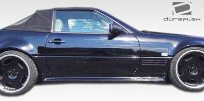 Mercedes SL AMG2 Look Duraflex Side Skirts Body Kit 1990-2002