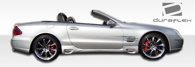 Mercedes SL LR-S Duraflex Side Skirts Body Kit 2003-2012
