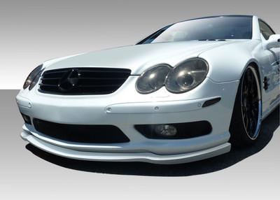 Mercedes SL L-Sport Duraflex Front Bumper Lip Body Kit 2003-2006