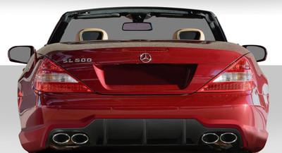 Mercedes SL SL65 Look Duraflex Rear Body Kit Bumper 2003-2012