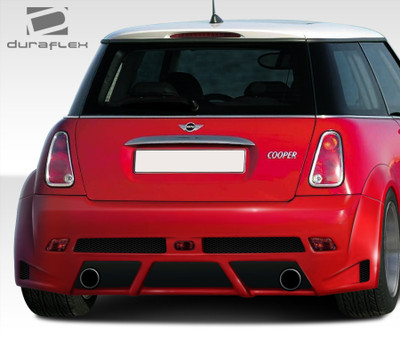 MINI Cooper Type Z Duraflex Rear Wide Body Kit Bumper 2002-2006