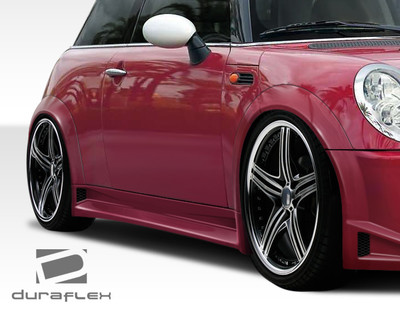 MINI Cooper Type Z Duraflex Side Skirts for Wide Body Kit 2002-2006