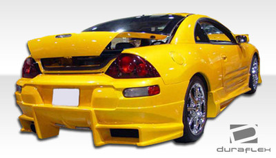 Mitsubishi Eclipse Bomber Duraflex Rear Body Kit Bumper 2000-2005