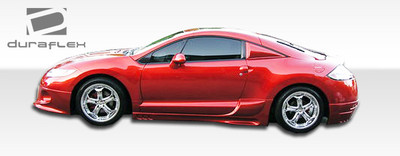 Mitsubishi Eclipse Racer Duraflex Side Skirts Body Kit 2006-2012