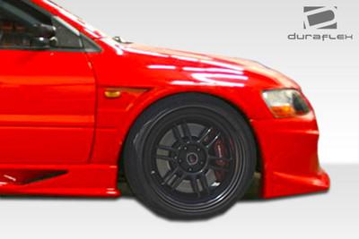Mitsubishi Evolution VT-X Duraflex Body Kit- Wide Fenders 2003-2006
