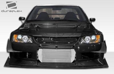 Mitsubishi Evolution VT-X Duraflex Front Wide Body Kit Bumper 2003-2006