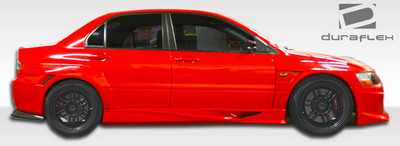 Mitsubishi Evolution VT-X Duraflex Side Skirts for Wide Body Kit 2003-2006