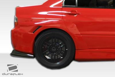 Mitsubishi Evolution VT-X Duraflex Wide Fender Flares 2003-2006