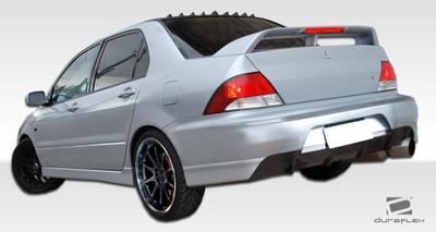 Mitsubishi Lancer 4DR MR Edition Duraflex Rear Body Kit Bumper 2002-2003