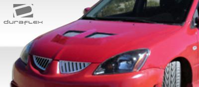 Mitsubishi Lancer Evo Duraflex Body Kit- Hood 2004-2007