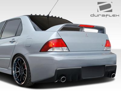Mitsubishi Lancer Evo X Look Duraflex Rear Body Kit Bumper 2002-2003