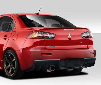 Mitsubishi Lancer Evo X V2 Duraflex Rear Body Kit Bumper 2008-2015