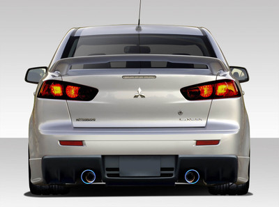 Mitsubishi Lancer Evo X V3 Duraflex Rear Body Kit Bumper 2008-2015