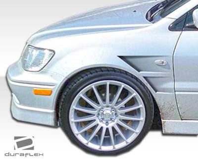 Mitsubishi Lancer GT Concept Duraflex Body Kit- Fenders 2002-2003
