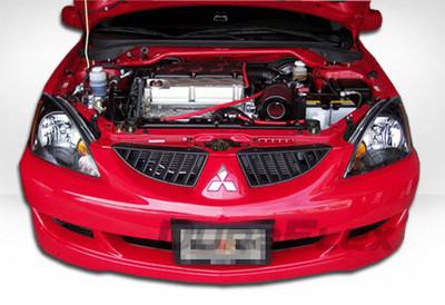 Mitsubishi Lancer Rally Duraflex Front Bumper Lip Body Kit 2004-2007