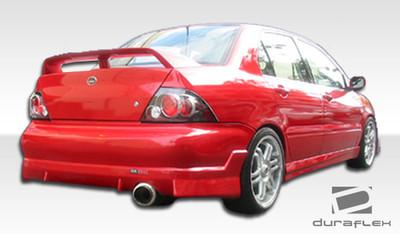 Mitsubishi Lancer Walker Duraflex Rear Body Kit Bumper 2002-2003