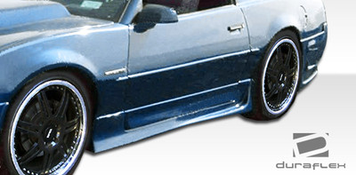 Pontiac Firebird Xtreme Duraflex Side Skirts Body Kit 1982-1992