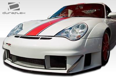Porsche 996 GT3 RSR Duraflex Front Wide Body Kit Bumper 2002-2004