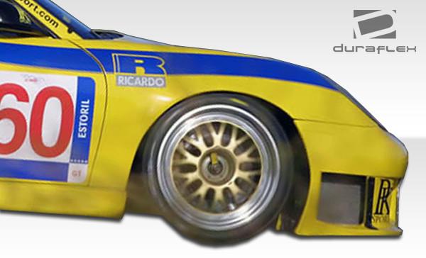 Porsche 996 GT3-R Duraflex Body Kit- Wide Fenders 1999-2001