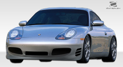 Porsche 996 Turbo Look Duraflex Front Body Kit Bumper 1999-2001