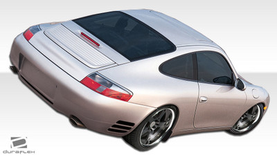 Porsche 996 Turbo Look Duraflex Rear Body Kit Bumper 1999-2004