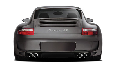 Porsche 997 AF-1 Aero Function Rear Body Kit Bumper 2005-2008