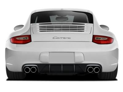 Porsche 997 AF-2 Aero Function (GFK) Rear Diffuser 2009-2011