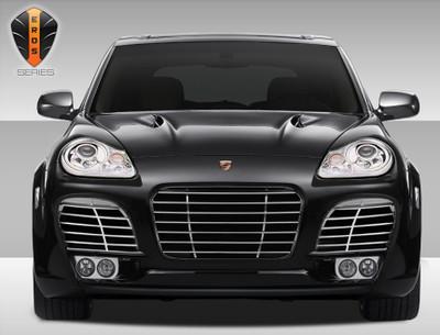 Porsche Cayenne Eros Version 1 Duraflex Front Wide Body Kit Bumper 2003-2006