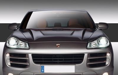 Porsche Cayenne Eros Version 2 Duraflex Body Kit- Hood 2003-2010