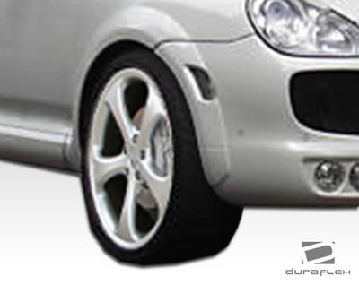 Porsche Cayenne G-Sport Duraflex Wide Front Fender Flares 2003-2006