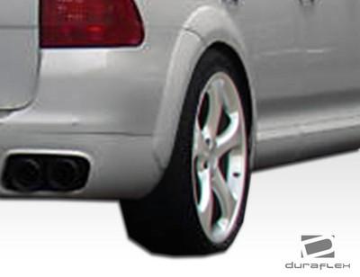 Porsche Cayenne G-Sport Duraflex Wide Rear Fender Flares 2003-2006