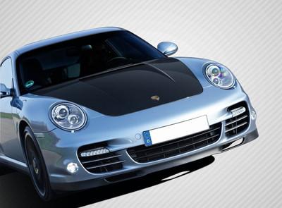 Porsche Cayman Eros Version 1 Carbon Fiber Creations Body Kit- Hood 2005-2012