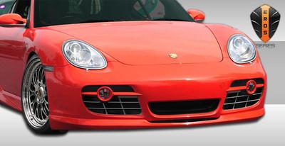 Porsche Cayman Eros Version 2 Duraflex Front Bumper Lip Body Kit 2006-2012