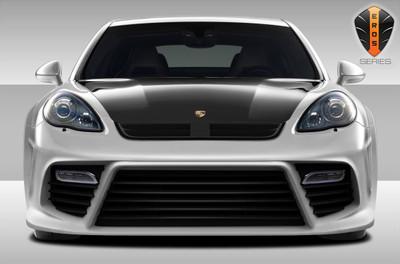 Porsche Panamera Eros Version 4 Duraflex Front Wide Body Kit Bumper 2010-2013