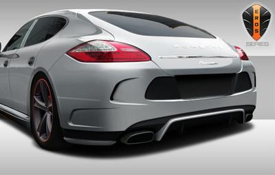Porsche Panamera Eros Version 4 Duraflex Rear Body Kit Bumper 2010-2013