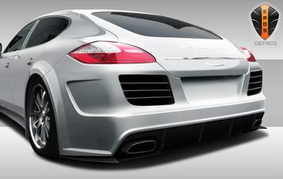 Porsche Panamera Eros Version 4 Duraflex Rear Wide Body Kit Bumper 2010-2013