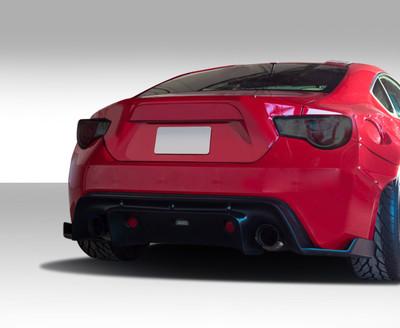 Scion FR-S GT500 Duraflex Rear Diffuser 2013-2015