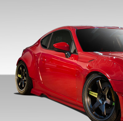 Scion FR-S GT500 Duraflex Side Skirts for Wide Body Kit 2013-2015