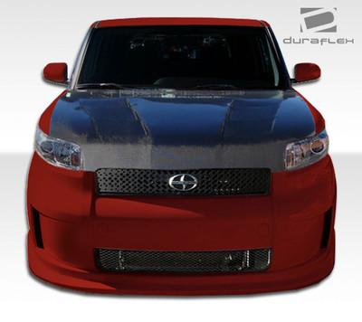 Scion xB Racer Duraflex Front Bumper Lip Body Kit 2008-2010